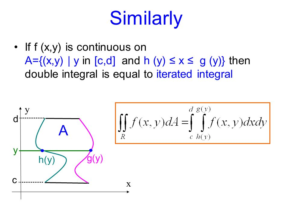 Double Integrals Introduction. - ppt video online download